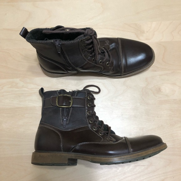 Apt 9 Mens Ankle Boots Revere Brown